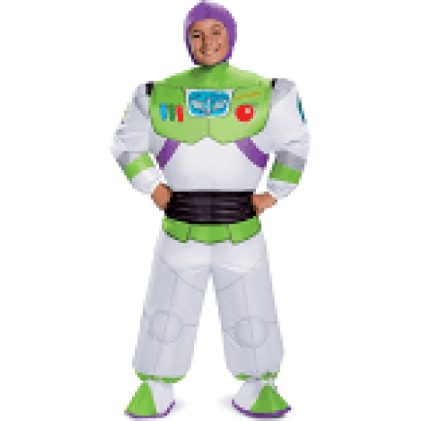 Boy's Buzz Lightyear Inflatable Halloween Costume - Toy Story 4