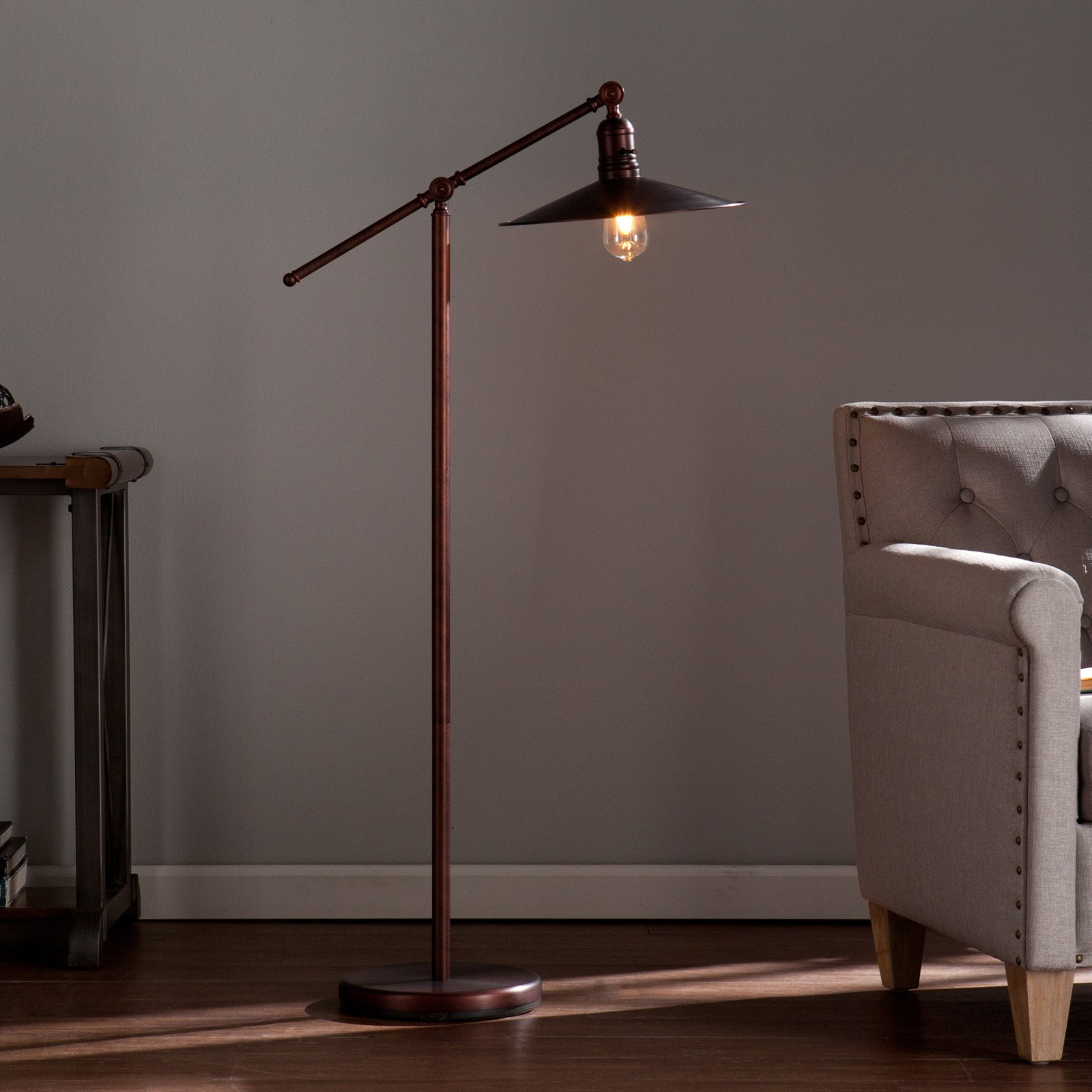 Southern Enterprise Vikram Floor Lamp by Southern Enterprises