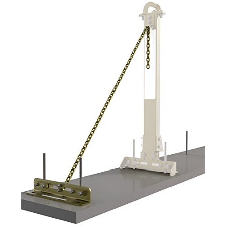 DBI-SALA 7400214SecuraSpan Rebar/Shear Stud HLL Tie-Back Base with Chain