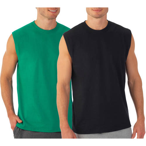 Fruit of the Loom Men's Muscle Tee, 2 Pack