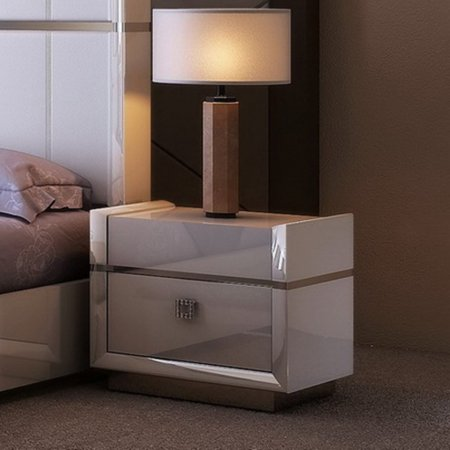- J&M Furniture Paris 2 Drawer Nightstand