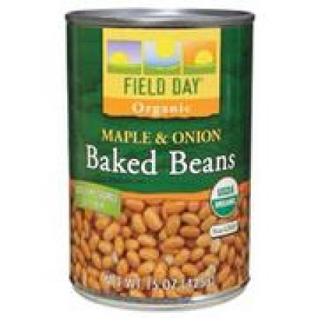 Field Day Beans Organic Baked Maple And Onion, 15 Oz