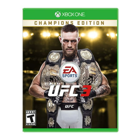 UFC 3 Championship Edition, Electronic Arts, Xbox One,