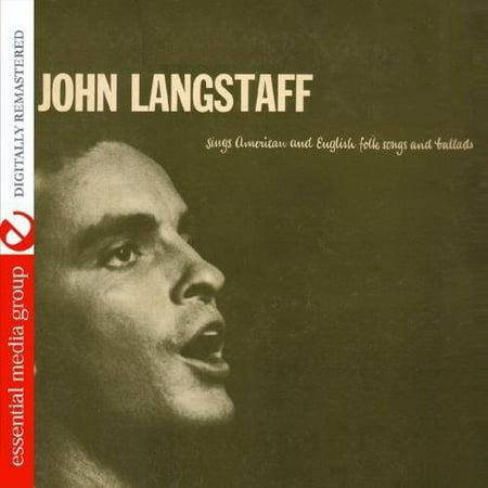 Sings American and English Folk Songs and Ballads (CD) (Remaster) English Folk Song