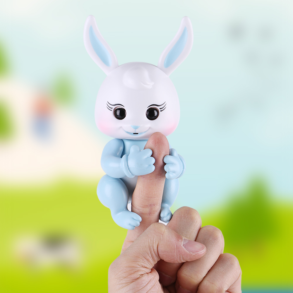 Yosoo Electronic Interactive Rabbit Toy Baby Children Happy Playing Cute Pet Interesting Toys ,Interactive Rabbit, Interesting Interactive Toy