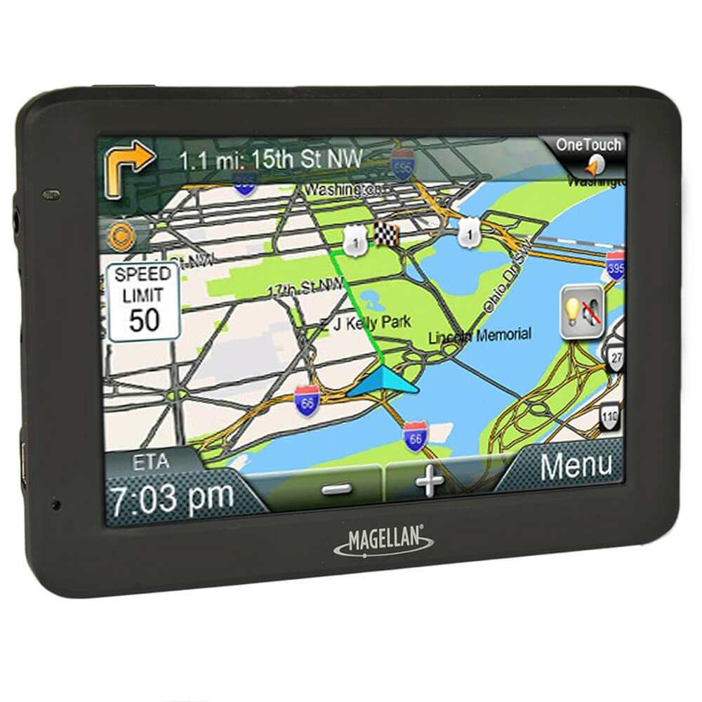 "Magellan RoadMate 5620-LM 5"" Touchscreen Portable Car Vehicle GPS Navigation"