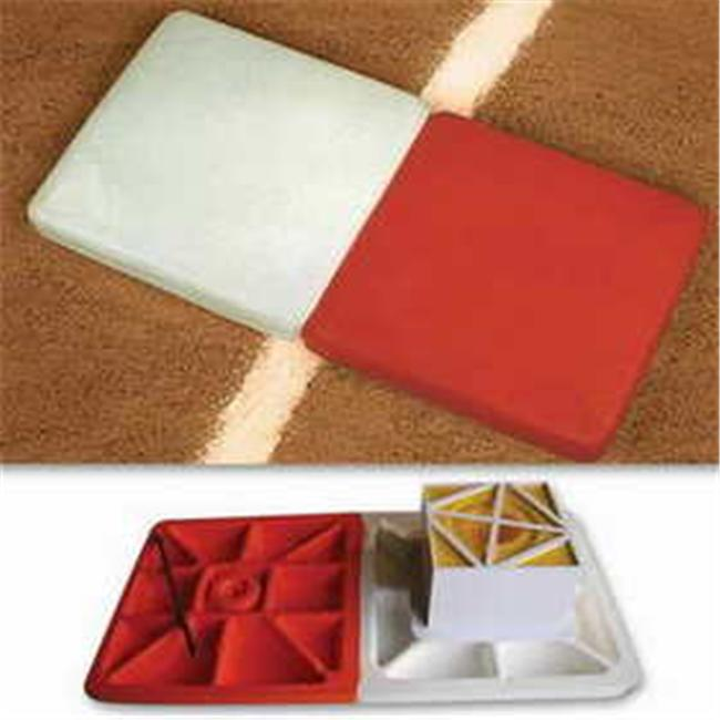 Image of Soft Touch Base 1236293 SoftTouch Double First Base Baseball-Softball Bases