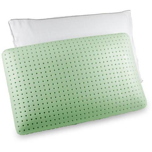 Standard Green Tea Memory Foam Pillow by Authentic Comfort
