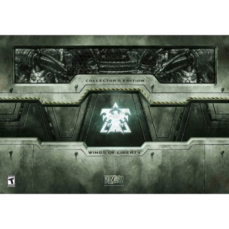 StarCraft II - Wings of Liberty (Collector's Edition) Great (Starcraft 2 Wings Of Liberty Release Date)
