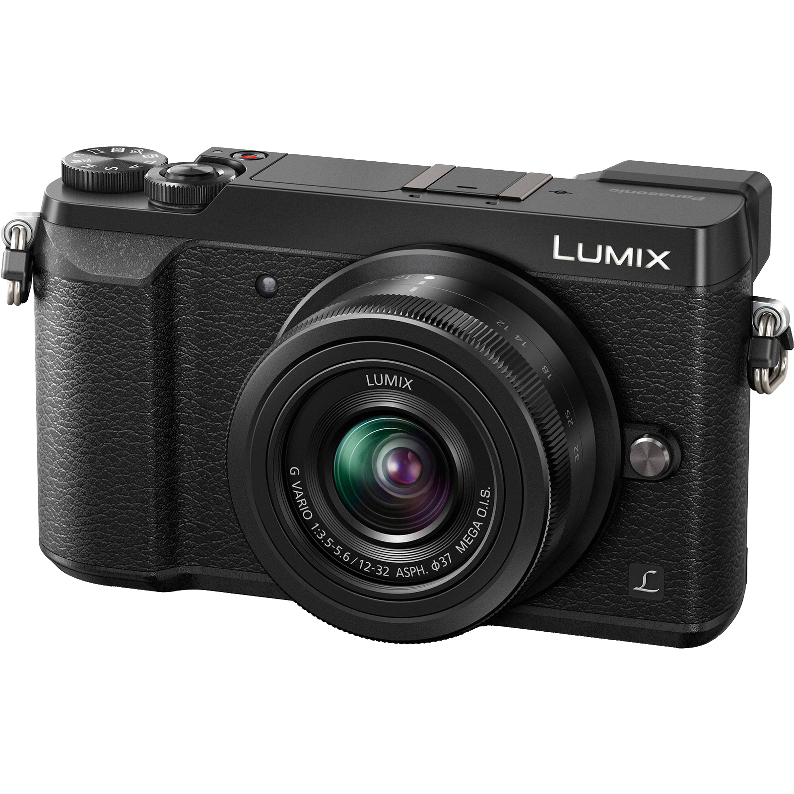 Panasonic Lumix DMC-GX85 4K Wi-Fi Digital Camera & 12-32mm Lens (Black)