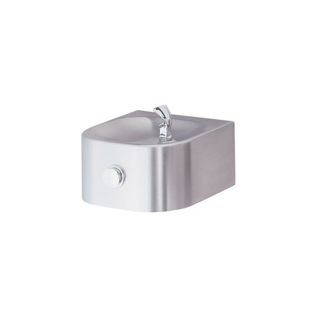 Double Fountain - Halsey Taylor HRFS Contour Wall Mounted Single Station Indoor/Outdoor Water Fountain - Barrier free with Double Bubbler™