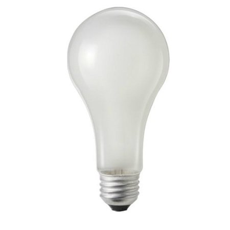 PHILIPS 150W 120V A-Shape A21 E26 Frosted Incandescent Light Bulb