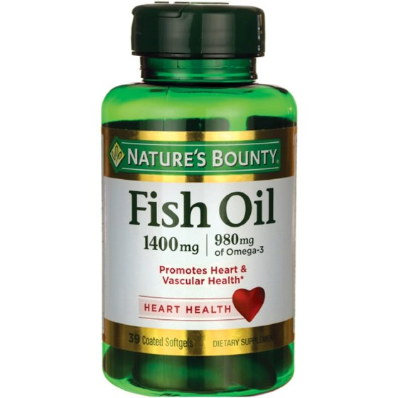 378e33fee4dc Nature s Bounty Fish Oil 1400 mg Omega-3