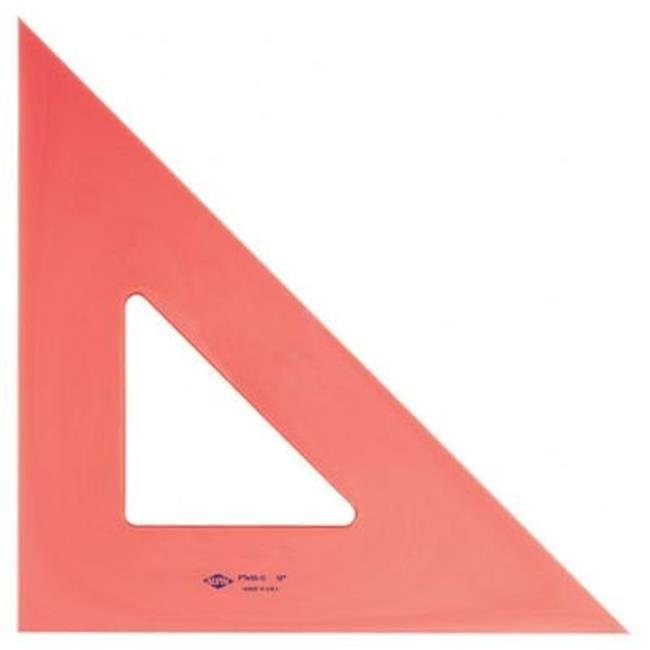 4 in. Fluorescent Triangle 45--90- - image 1 de 1