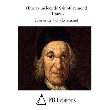 Oeuvres Melees de Saint-Evremond - Tome I - image 1 of 1