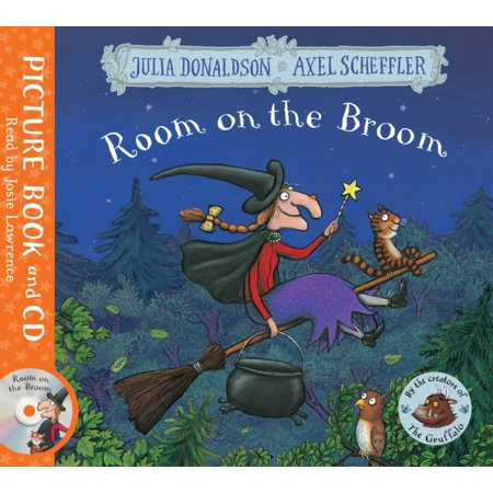 ROOM ON THE BROOM BOOK & CD
