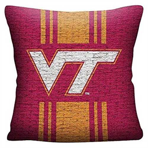 NCAA Virginia Tech Hokies Woven Pillow - Multi-Colored