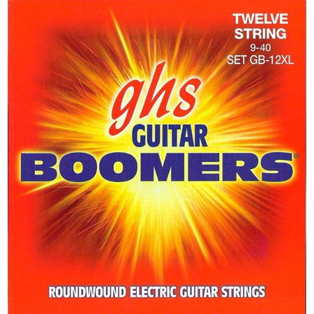 GHS Boomer 12 String Extra Light Electric Guitar Set (10-46)