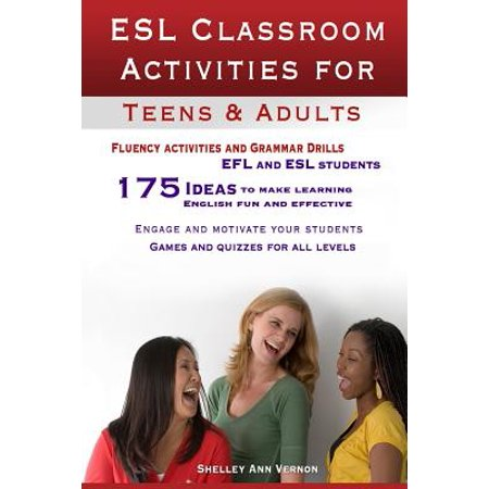ESL Classroom Activities for Teens and Adults : ESL Games, Fluency Activities and Grammar Drills for Efl and ESL Students.](Halloween Activities For The Classroom)