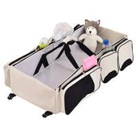 Safeplus 3 in 1 Portable Infant Baby Bassinet Diaper Bag