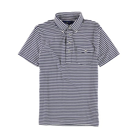 Ralph Lauren Mens Striped Rugby Polo Shirt