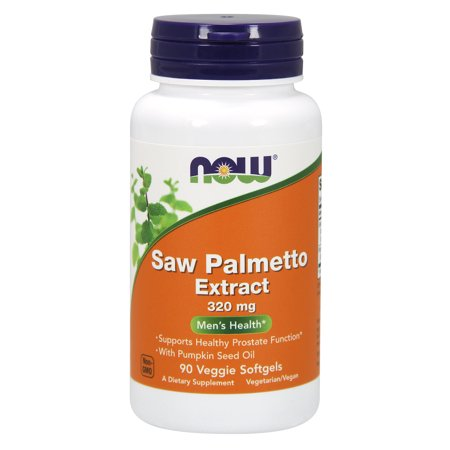 NOW Supplements, Saw Palmetto 320 mg, 90 Veg