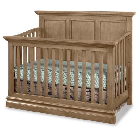 Westwood Design Ridge Panel Convertible Crib  Cashew