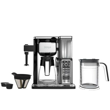 Ninja Carafe Coffee Bar System with Single Serve - Walmart.com
