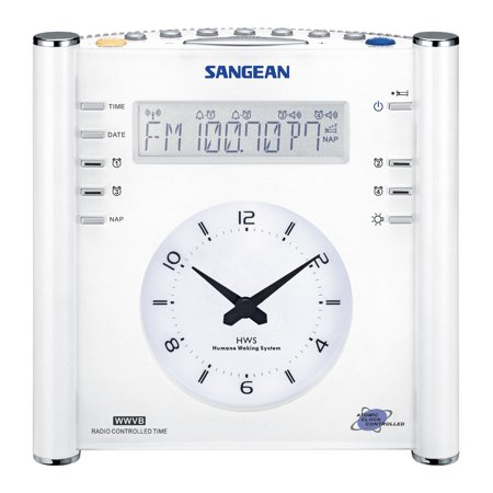 Sangean Compact Am Fm Dual Alarm Clock Radio With Large