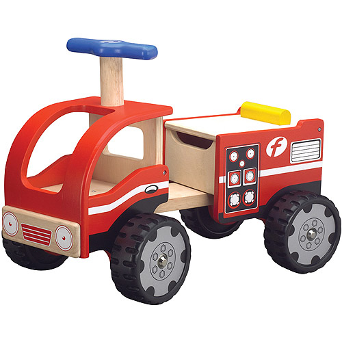Wonderworld Fire Engine Ride-On