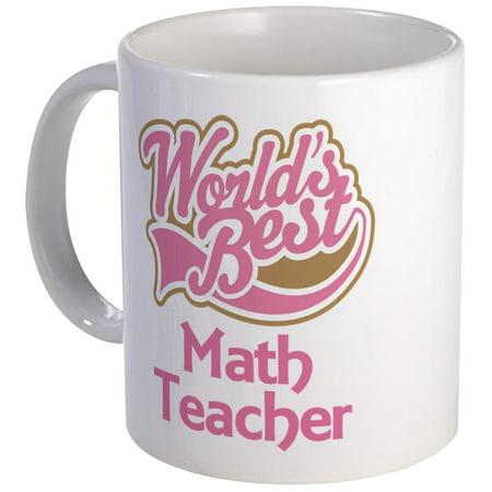 CafePress - Math Teacher Gift Mug - Unique Coffee Mug, Coffee Cup CafePress](Teacher Coffee Mugs)