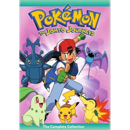 Pokemon Johto Journeys: The Complete Collection (DVD) (Pokemon Complete Set)