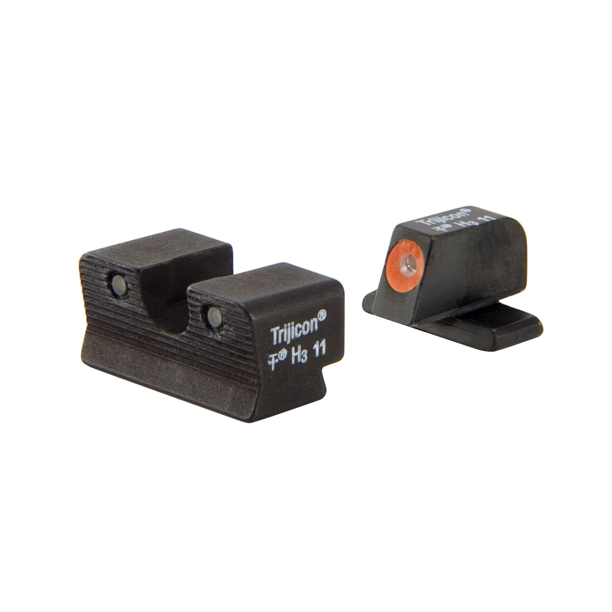 Trijicon Walther HD Night Sight Set PPS PPX PPS M2, Orange Rear Lamp by Trijicon