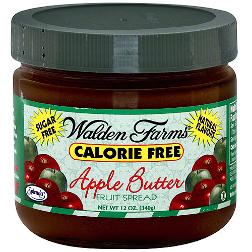 Walden Farms Calorie Free Apple Butter Fruit Spread, 12 oz, (Pack of 6)