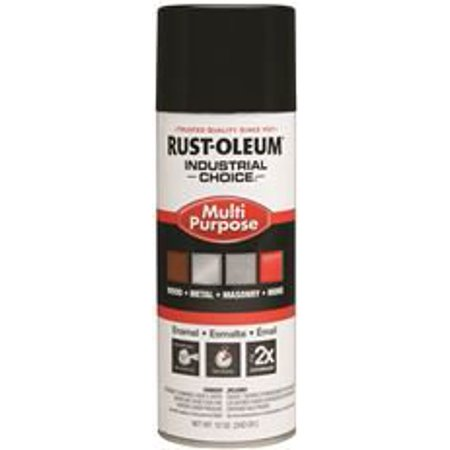 RUST-OLEUM INDUSTRIAL CHOICE SPRAY PAINT, GLOSS WHITE, 12