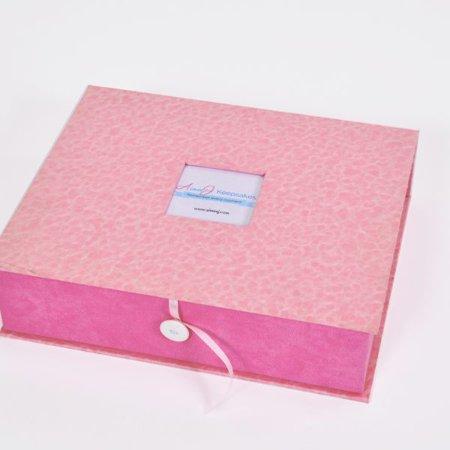 Pink Baby Keepsake Box Luxe