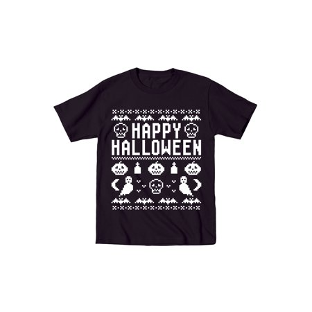 Happy Halloween -CUTE TODDLER SHORT SLEEVE TEE-4T - Short Halloween Poems For Toddlers