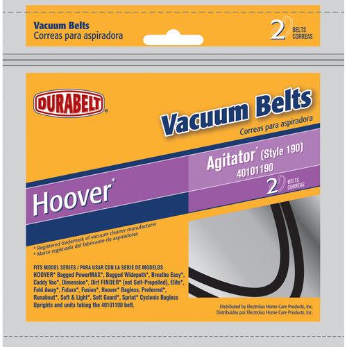 Durabelt Vacuum Belt, Hoover Agitator Style 190