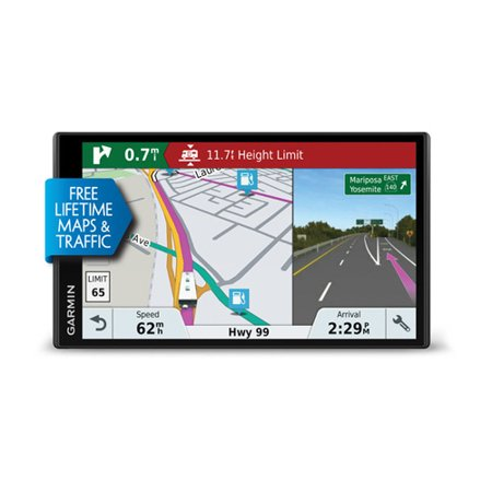 GARMIN RV 770 LMT-S GPS w/ 7 Inches Color Touchscreen, Bluetooth Connectivity, Lifetime maps & traffic and Speed Limit