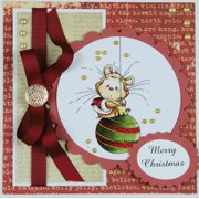 "Wee Stamps Topper Sheet 8.3""X12.2""  -Christmas Berry"