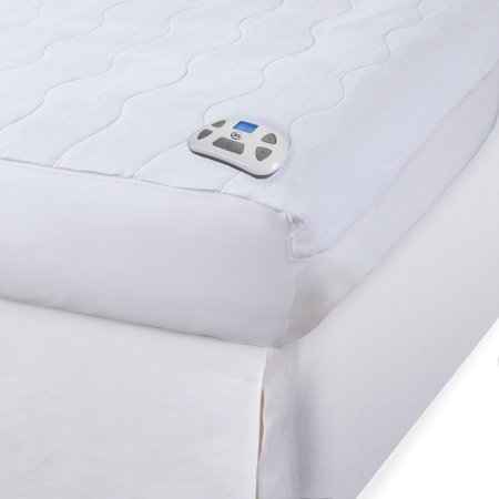 Serta Electric Microplush Heated Mattress Pad with New Digital Controller (Serta Heated Mattress Pad)