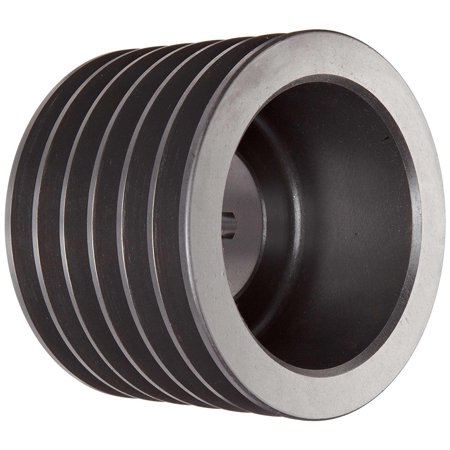 Martin 6 B 60 TB Conventional Taper Bushed Sheave, A/B Belt Section, 6 Grooves