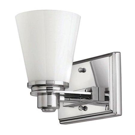 Hinkley Lighting 5550 Led2 1 Light 7 25   Width Led Bathroom Sconce From The Avon