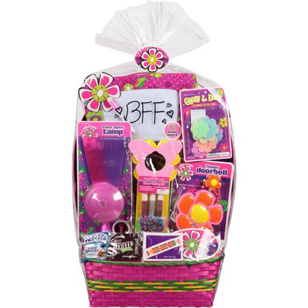 Easter basket with room accents toys and assorted candy 8 pc easter basket with room accents toys and assorted candy 8 pc negle Image collections