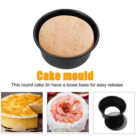 4/5/6/7/8/9/10/11/12 Inch Aluminum Alloy Removable Bottom Baking Cake Pan - image 6 de 8