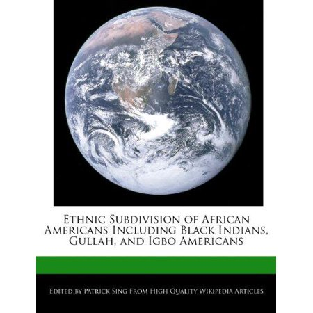 Ethnic Subdivision of African Americans Including Black Indians, Gullah, and Igbo Americans - image 1 of 1