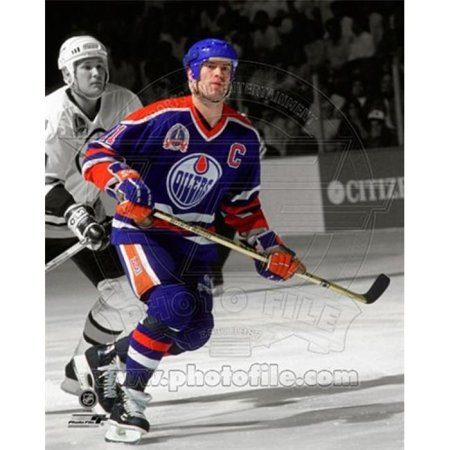 Mark Messier 1990 Stanley Cup Finals Spotlight Action Sports Photo - 8 x 10