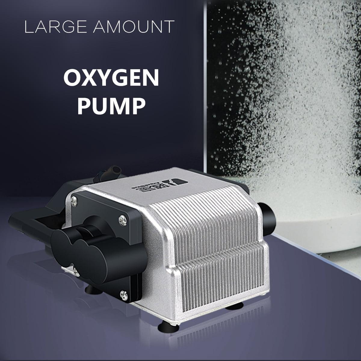 Moaere Ultra Silent High Energy Saving Oxygen Air Pump Quietest Aquarium Aerator Pump for Fish Tank