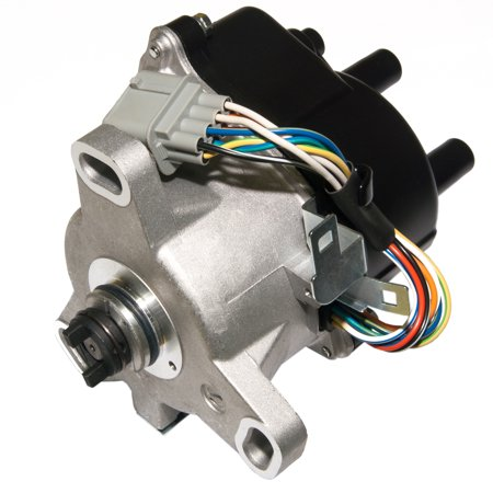 Brand New Compatible Ignition Distributor w/ Cap & Rotor TD-63U TD63U for 99 00 HONDA CIVIC ACURA EL 1.5L 1.6L SOHC ACCORD 2.3L TD-73U (Align New Tail Rotor)