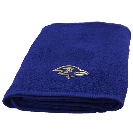 NFL Baltimore Ravens Bath Towel, 1 Each Baltimore Ravens Super Bowl